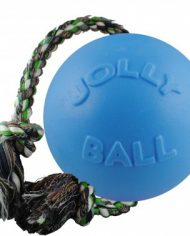 Jolly Pets Romp-n-Roll -LJUSBLÅ-